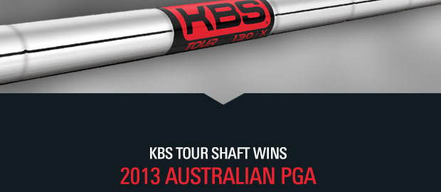 KBS Tour Shaft Wins Australian PGA