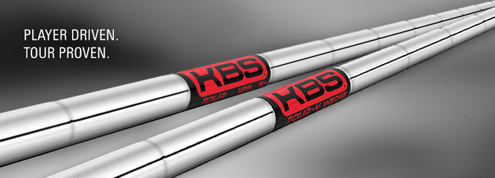 KBS Tour Iron Shafts - Stiff Flex - .355 Taper Tip (4I - S - 120g)
